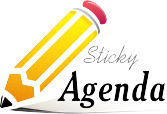 logo sticky agenda for the web scale 90
